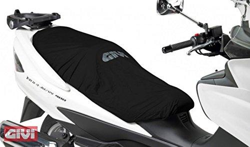 Protection de Selle Aprilia Atlantic 125 Givi S210 pour Scooter Noir