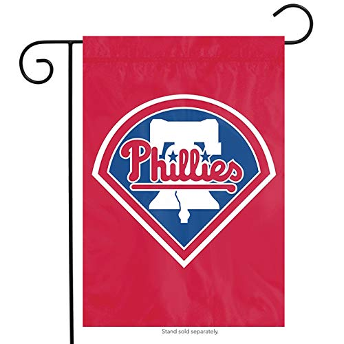 Philadelphia Phillies MLB Garden Flag, Red, 18