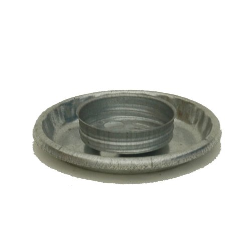 Brower Model 0 Galvanized Threaded Chick Fount Base