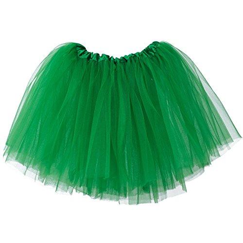 Toddler Green Girls (My Lello Little Girls Tutu 3-Layer Ballerina Emerald Green (10 mo - 3T))