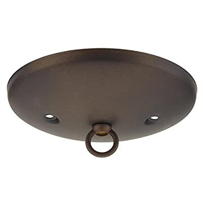 Wellington 7003800 Westinghouse Lighting Modern Canopy Kit, Oil Rubbed Bronze