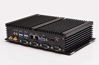 mini desktop Qotom-i37C4 2G ram 64G SSD 300M WIFI 2 RJ-45 thin client support WIN7£¬ Linux£¬ Windows XP£¬ Windows 2003£¬ Ubuntu