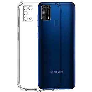 Tough Lee Back Cover For Samsung Galaxy M31 Prime;Samsung Galaxy M31 Silicone ( Transparent )
