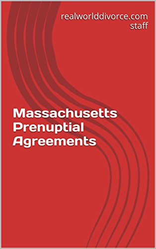 Massachusetts Prenuptial Agreements Kindle Edition By Suzanne