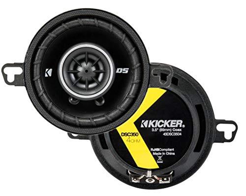 KICKER 43DSC3504 3-12-Inch 3.5-Inch