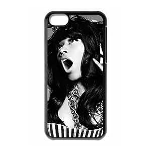HUS08733 Custom Protective Hard Plastic Case with Nicki Minaj for Iphone 5C at Hushell