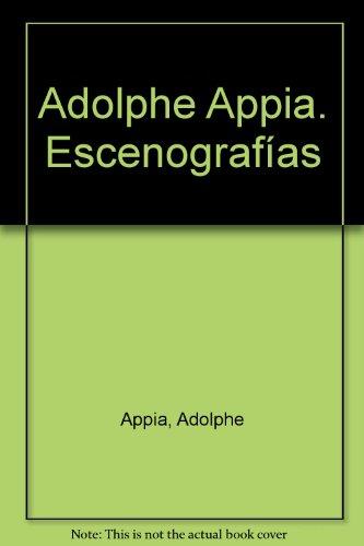 Descargar Libro Escenografias Adolphe Appia
