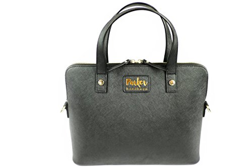 Parker Handbags Clandestina Concealed Carry Purse Black