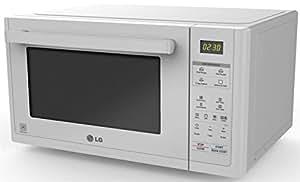 LG MJ3294BDW - Microondas, 900 W, convección 1200 W, con grill y 32 l de capacidad, color blanco