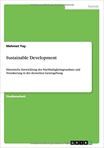 Book Sustainable Development