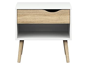 J and M Furniture 17853-NS Palermo Night Stand