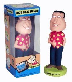 (Wacky Wobblers Family Guy Quagmire Bobble Head by Funko )