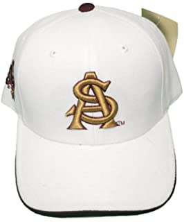 15bc9ae95a3 New! Arizona State Sun Devils Adjustable Back Hat 3D Embroidered Cap ASU