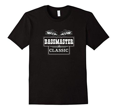 Mens Bassmaster Classic Tshirt 3Xl Black