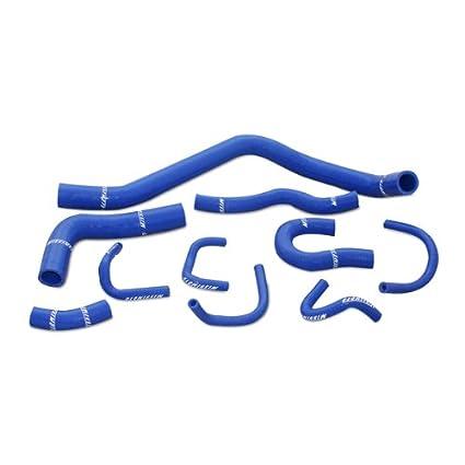 Mishimoto MMHOSE-CIV-88BL Blue Silicone Hose Kit