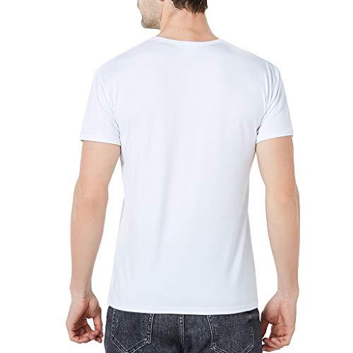 Letdown_Men tops Men's 3D Printing Create Round Neck Casual Short Sleeve Shirt Top Blouse Men Summer Short Sets by Letdown_Men tops (Image #2)