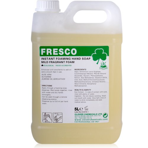 - Fresco Instant Foaming Hand Soap (5L) - Comes With TCH Anti-Bacterial Pen! by TheChemicalHut
