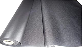 product image for Black 600x300 Denier PVC-Coated Polyester Fabric by The Yard
