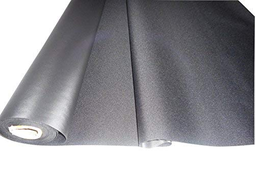 (Black 600x300 Denier Pvc-coated Polyester Fabric By the Yard)