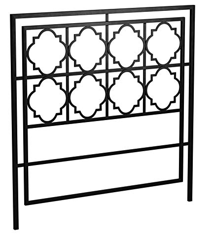 Safavieh Home Collection Silva Gunmetal Headboard, Queen by Safavieh