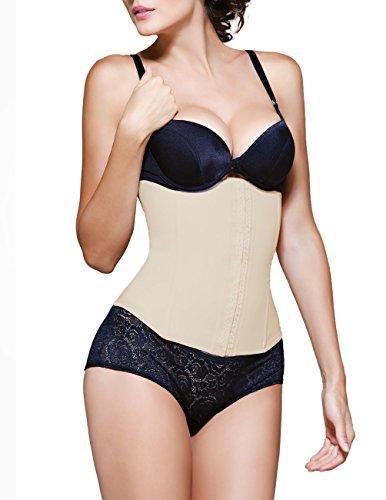 Valerie Latex Waist Cincher Color Nude Size 2XL (42) 102