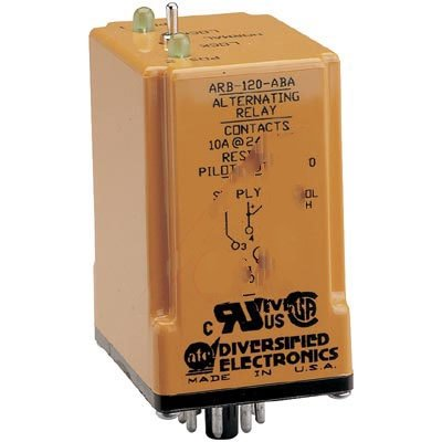 ATC ARA-120-ABA Plug-In Duplexor Alternating Relay, 120 VAC or VAC/DC, SPDT - Vac Relay