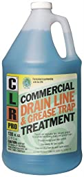 CLR Pro GRT-4Pro Commercial Drain Line and Grease Trap Treatment, 1 Gallon Bottle