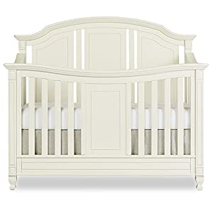 Evolur Adele 5 in 1 Convertible Crib in Creme Brulee