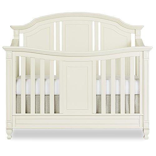 Evolur Adele 5 in 1 Convertible Crib in Creme Brulee