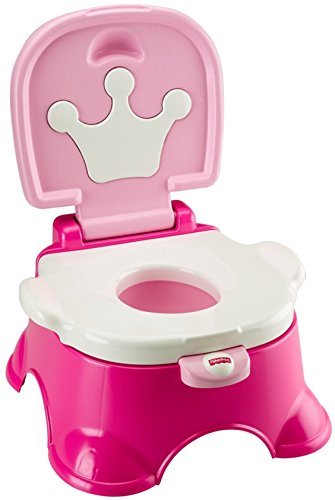 Fisher Price Stepstool Potty Pink Princess product image