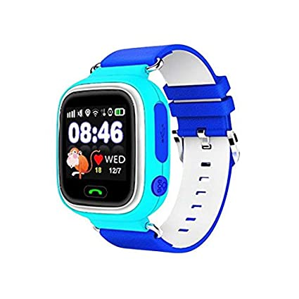 Amazon.com: LEMFO Q90 Samrt Watch for Kids, GPS Tracker Sim ...