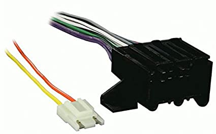 amazon com metra 12 pin wire harness for vehicles 70 1677 1 6 Pin Wiring Harness Connector Plugs image unavailable image not available for color metra 12 pin wire harness