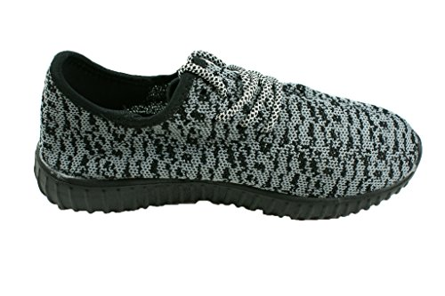 Grey Light Athletic Weight Women Townforst Sports Fashion Sneaker Breathable Shoes 1OYUzw