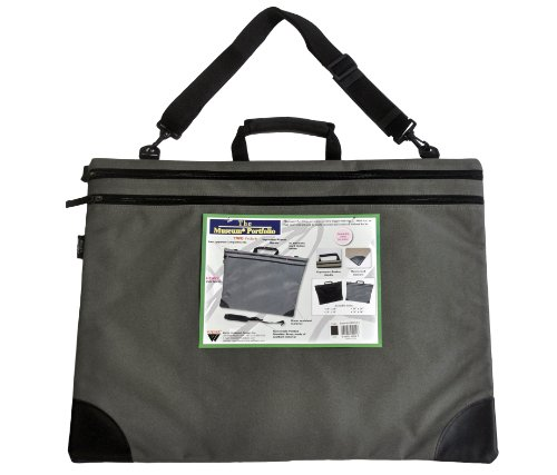 Museum Portfolio 66-MP2436GY 24-Inch by 36-Inch, Gray by MUSEUM PORTFOLIO