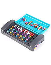 Lary Code Cracking spel Mastermind spel voor kinderen Montessori Code Breaker strategiespel voor gezinsleden pedagogisch intellectueel ontwikkelingsspeelgoed, kinderreisspeelgoed