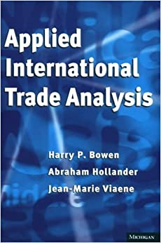 Applied International Trade Analysis (Studies in International Economics) by Jean-Marie Viaene (1998-08-01)