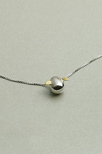 s925 Silver Necklace Pendant Women Girls Short Clavicle Chain Gift Woman Angel Egg Pendants Silver Jewelry Cute College Student Theatrical Breeze Hypoallergenic Girlfriend Birthday Gift (Pendant Jewelry College)