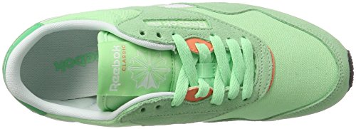 Sneakers Nylon Reebok Green Slim Cl bottle Mujer mint Para Verde white Hv qrqIUW5