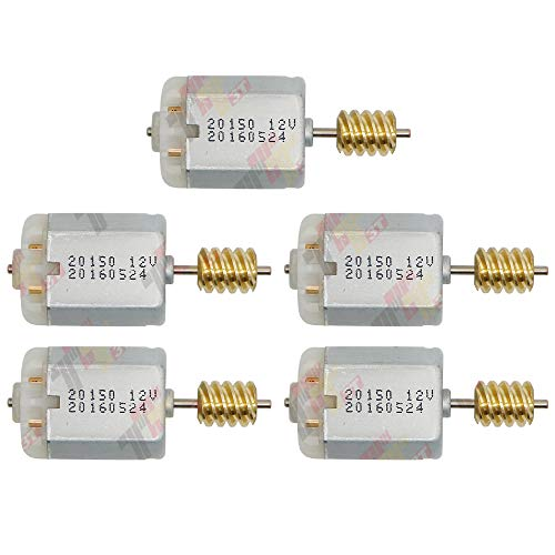 ALLWAY 5PCS Door Central Lock Actuator Motor for Ford/Mazda/Land Rover Range Rover/Jaguar/Volvo