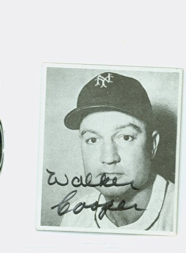Walker Cooper Autograph D91 1976 Phila Card Show New York