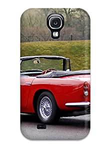 Rugged Skin Case Cover For Galaxy S4- Eco-friendly Packaging(aston Martin Db5 9) by icecream design