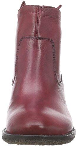 Inuovo Calista - Botas de Cuero Mujer rojo - rojo (Bordeaux)
