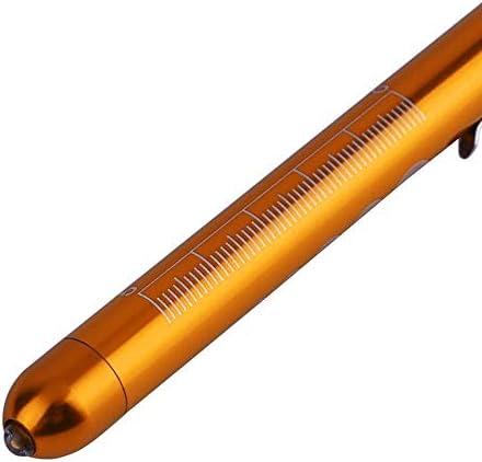 1 stück silber Aluminium Medical Surgical Penlight Taschenlampe Erste Hilfe Neu