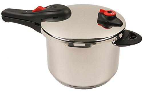 NuWave Stainless Pressure Cooker 6 5 Quart