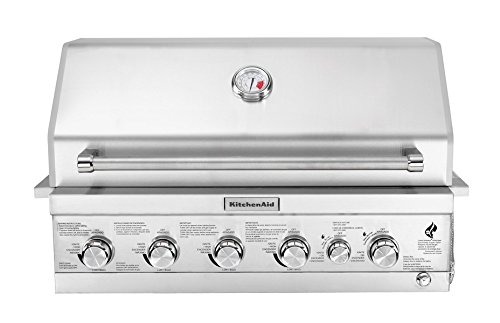 KitchenAid 740-0781 Built Propane Gas Grill, Stainless Steel