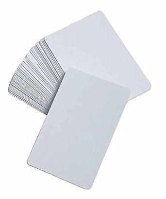 Amazon.com: Blank Juego de cartas: Industrial & Scientific