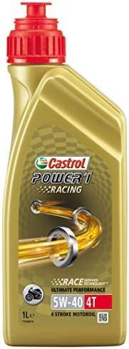 Oleo de Moto Castrol Power 1 Racing 5w40 Api Sl 1L