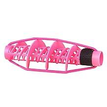 5 PCS Home DIY Hair Rollers Corn Stigma Rolls Styling Tool, Pink