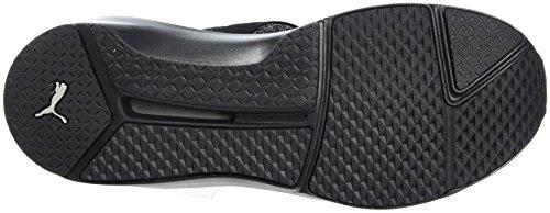Chaussures de Metallic Noir Puma Black Fitness Fierce Silver Evoknit Femme Pq7xZgxA