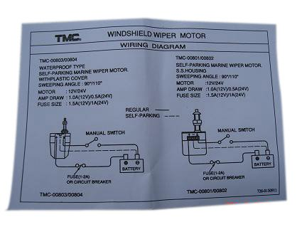 Tmc Wiper Motor Wiring Diagram | Wiring Diagram on